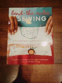 Bend-the-rules Sewing Book - New Markham, L3R 2X8