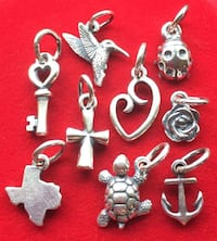 $28. each - James Avery Brand New Sterling Silver Charm