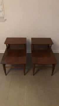Mid Century Coffee Tables (Set of 2) Harwood, 21403
