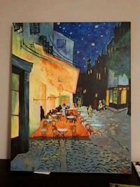 Acrylic painting on canvas Kitchener, N2E 1H3