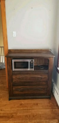 brown wooden framed electric fireplace Niles, 60714