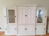 white wooden cabinet with drawer Fairfax Station, 22039