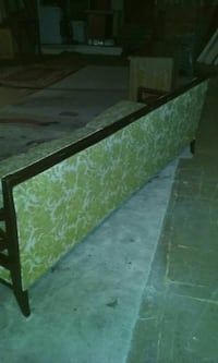 Antique sofa and is in good shape new varnished