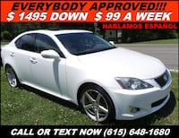 2010 Lexus IS 250 AWD 538 mi