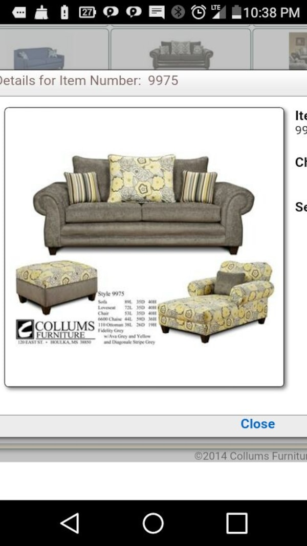 Miraculous Collums Furniture Couch Set Onthecornerstone Fun Painted Chair Ideas Images Onthecornerstoneorg