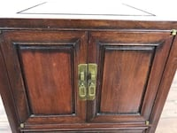George Zee & Co. Chinese Rosewood Small Cabinet/End Table (1013248)