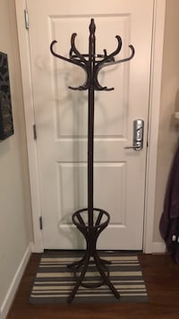 6' Coat Rack with Umbrella Stand Alexandria, 22301