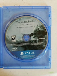 Elder Scrolls Online PS4 game disc Heber City, 84032