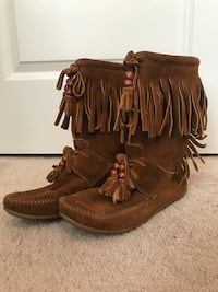 Leather moccasins Pineville, 28134
