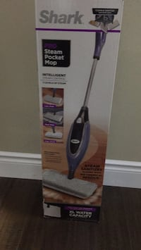 Black and gray steam mop Vaughan