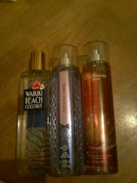Bath and Body works sprays