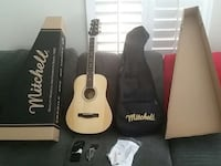 Mitchell Acoustic Guitar MD Junior natural wood Simi Valley, 93065
