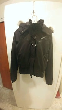 black zip-up jacket Waterloo, N2L 3P7