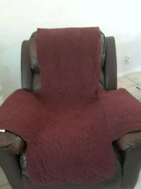 Maroon chair cover Lancaster, 93535