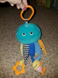 Octopus baby/toddler toy