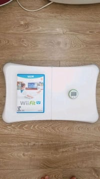 Wii fit U for WiiU with balance board & fit meter Cambridge, 02140
