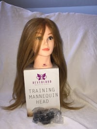 Mannequin head with clamps Clarksville, 37043