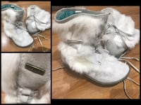 Diesel Real rabbit fur size 4