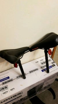 $25 for both of them. Bicycle seat and pole  Toronto, M9V 3T1
