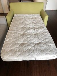 Sofa Bed - Pull Out - Light Green - Crate and Barrel / Land of Nod