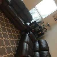Brown Leather Recliners Atlanta, 30324