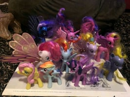 My little ponies with wings