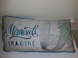 PillowMermaid Pillow w/Reversible Sequins (Includes Cover