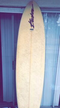 white and blue surf board Oceanside, 92058