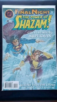 SHAZAM! DC comic book SUPERMAN