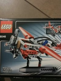 Lego seaplane or helicopter #8046