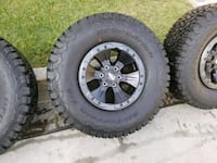 FORD F150 RAPTOR Forged Wheels and Tires  2266 mi