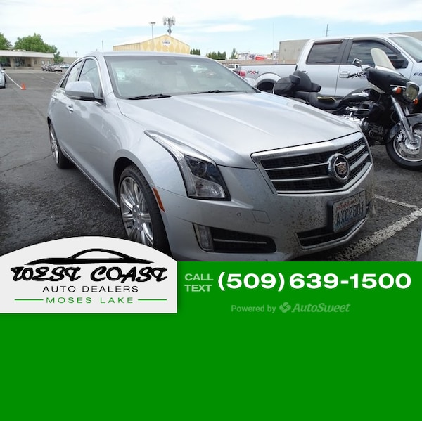 Used 2013 Cadillac ATS Sedan Premium For Sale In Moses