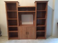 Wood entertainment center Longview