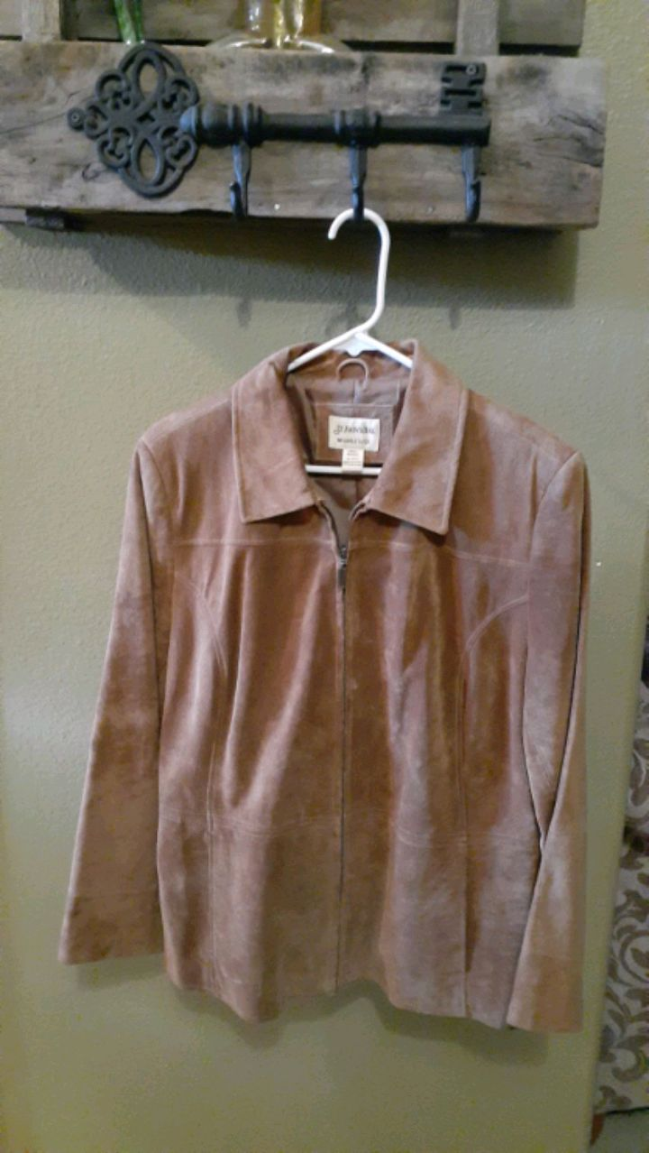 Photo New Suede Jacket Brown