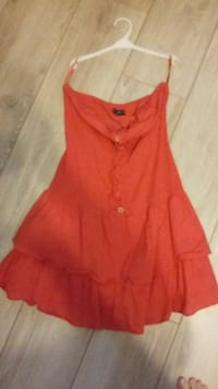 Robe legere rouge