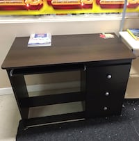 Brand new shadow oak study desk with drawer and keyboard tray on sale 多伦多, M1W 1A8