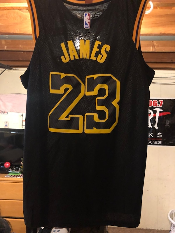9b830f812 Used Lebron James Jersey Chauncey billups throwback jersey for sale ...