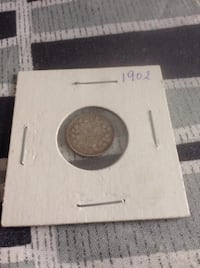 Rare antique little sterling silver coin. $20 each (pick up in Scarborough) Toronto, M1S