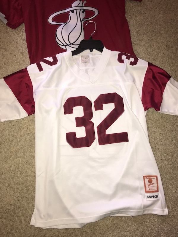 Used Oj simpson jersey- size medium 100% authentic! for sale in Shoreview -  letgo 31d4ffaca