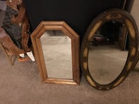 """Vanity mirrors 20"""" & 24"""" $50 for both."""