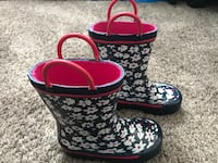Joe Fresh Toddler Rain Boots. Brand New size 6 Oakville, L6H 1W2