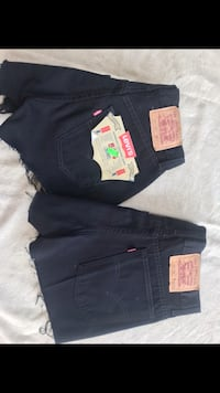 fondi neri in denim Levi's Succivo, 81030