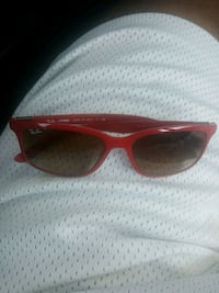 red framed Ray-Ban wayfarer sunglasses Atlanta, 30305