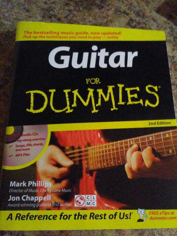 Used New Guitar Book For Dummies For Sale In Caledonia Letgo