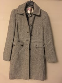 Small Brown button-up winter coat