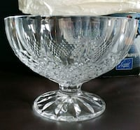 New in box Crystal Serving Bowl Belleville, K8P 4S8