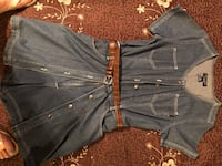 Blue denim button up jacket Las Vegas, 89169