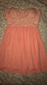 Wet Seal salmon dress SIZE SMALL