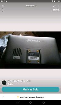 Magellan gps unit Kitchener, N2G 1T9