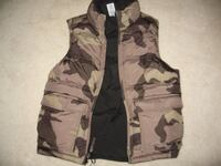 BOYS GAP CAMOUFLAGE REVERSIBLE VEST